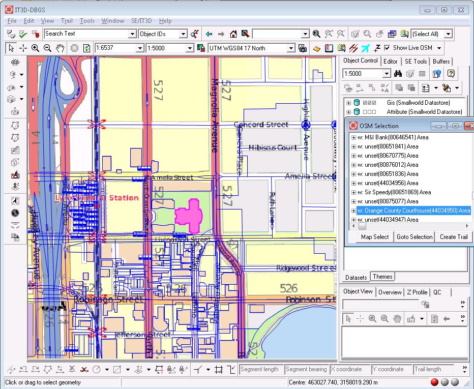FCSI - OpenStreetMap Plug-in